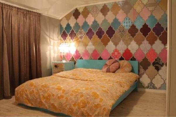 Maleriet fargehandel: Dekor av interiørstæsh