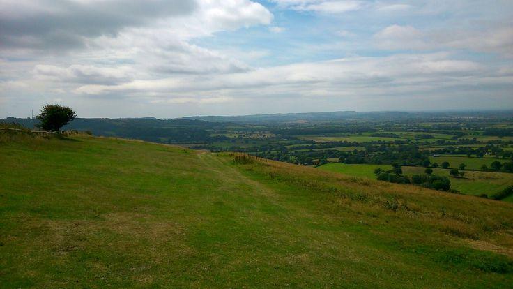 Dorset hilltop