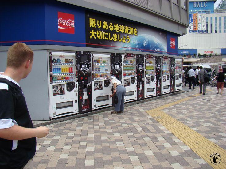 Japan // Tokio - Automaten, überall diese Automaten