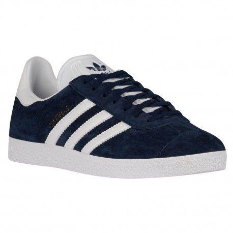 375c1f5e58047 adidas Originals Gazelle - Men s - Training - Shoes - Collegiate Navy White Metallic  Old Gold-sku BB5478