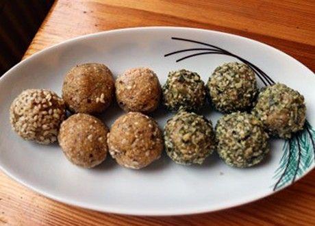 Rawfoodbollar med saffran