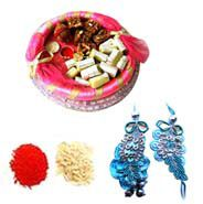 Send Bhaiya Bhabhi Rakhi with assorted sweets through http://www.onlinerakhigift.com/rakhi-bhaiya-bhabhi.html