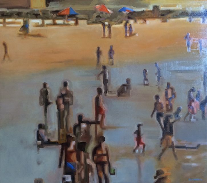 'Beach Series iii' by Joe Blundell www.tuskgallery.com.au