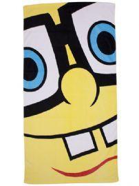 Spongebob Squarepants Framed Beach, Bath Towel