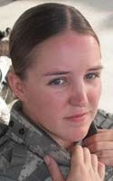 Army Sgt. Faith R. Hinkley, 23  of Colorado Springs, Colo.; assigned to 502nd Military Intelligence Battalion, 201st Battlefield Surveillance Brigade, Joint Base Lewis-McChord, Wash.; died Aug. 7,2010 in Baghdad, of wounds sustained when insurgents attacked her unit in Iskandariya, Iraq.
