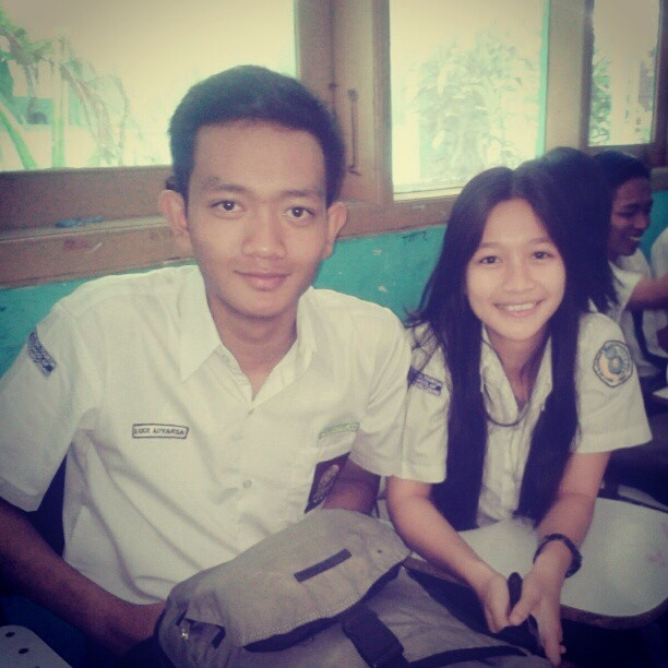 With @indah_radisic on bored class~~