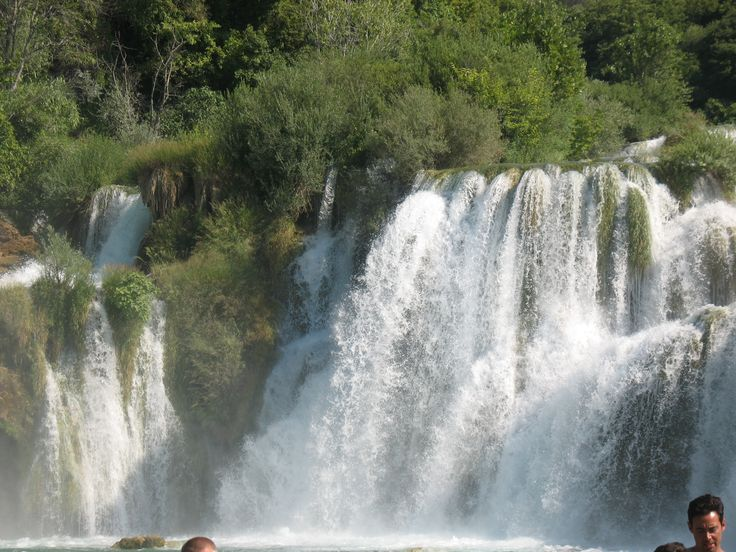 Krka National Park is one of the Croatian national parks, named after the river Krka that it encloses. It is located along the middle-lower course of the Krka River in central Dalmatia.