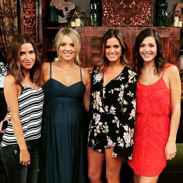 A Look At Photos From The Bachelorette 2016 Premiere Where Kaitlyn Bristowe Desiree Hartsock And Ali Fedotowsky Return To Advise JoJo Fletcher