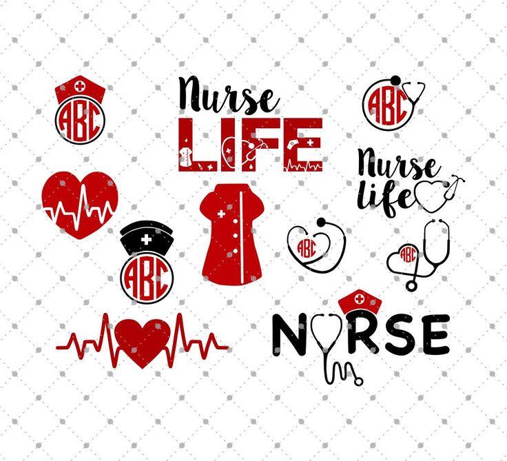 Nurse SVG Cut Files