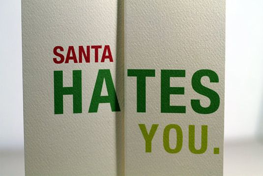 holiday greeting cards from graphic designers