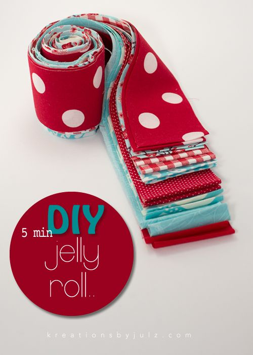 it dawned on me this morning while i was cutting strips out of some aqua and red prints i've been collecting, that a DIY jelly roll of your favorite fabrics would be a great gift for a friend, family member, neighbor or co-worker who also has the quilting 'bug' aka addiction.. i thought i'd share …: