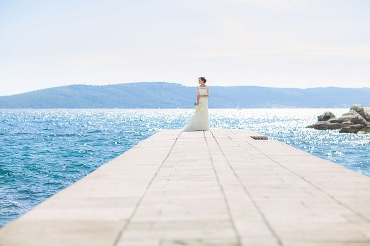 Sparkling Turquoise Waters: Croatia Destination Wedding   Fly Away Bride