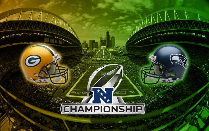 Green Bay Packers vs Seattle Seahawks 2015 NFC Championship Game ...