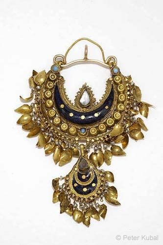 18th Century Enamel and Gold India