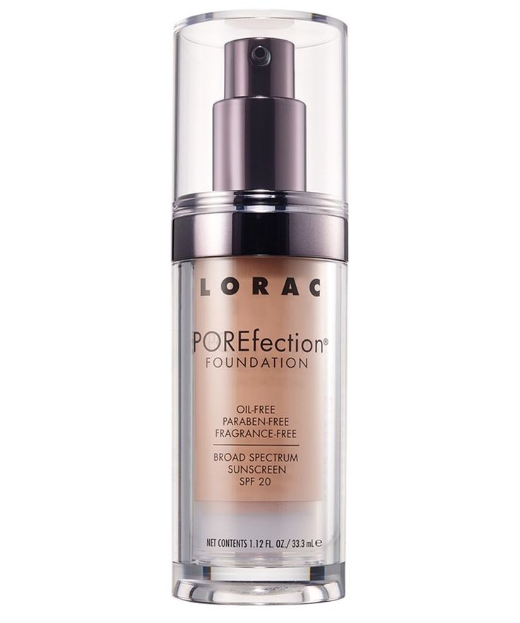 The 10 Best Foundations for Oily Skin - LORAC POREfectionFoundation from InStyle.com