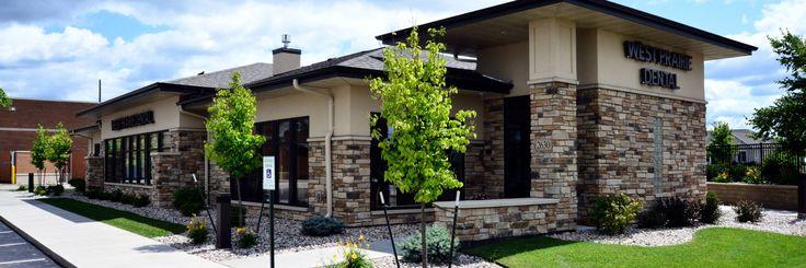 53 best exteriors images on pinterest construction for Dental office exterior design