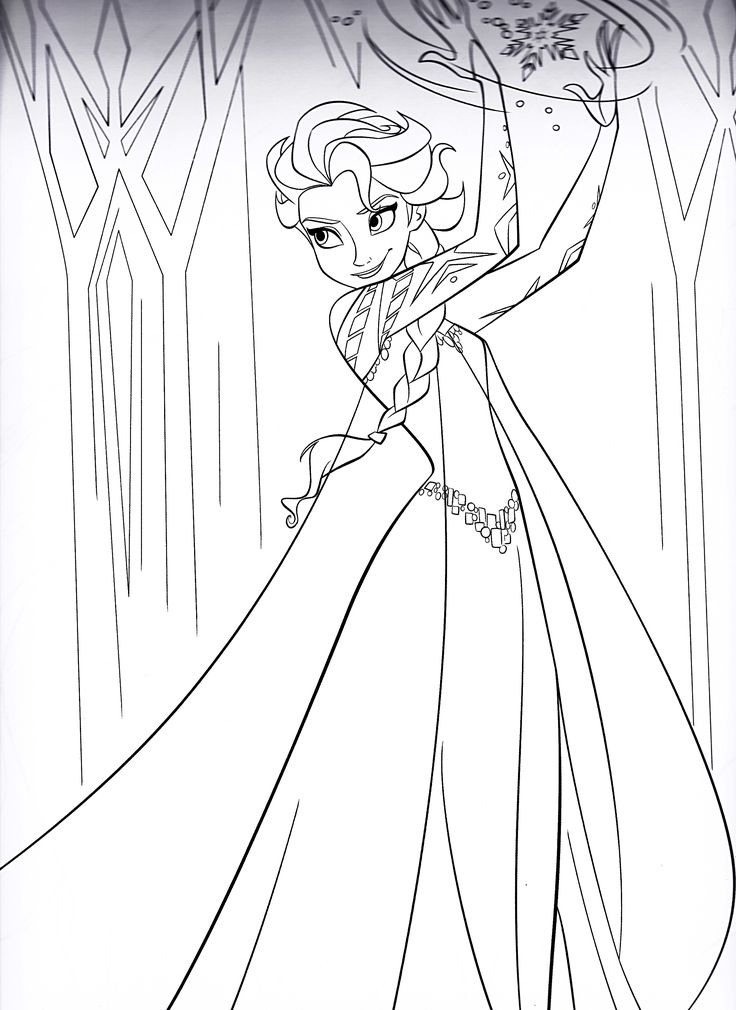 disney frozen coloring pages | Walt Disney Characters Walt ...