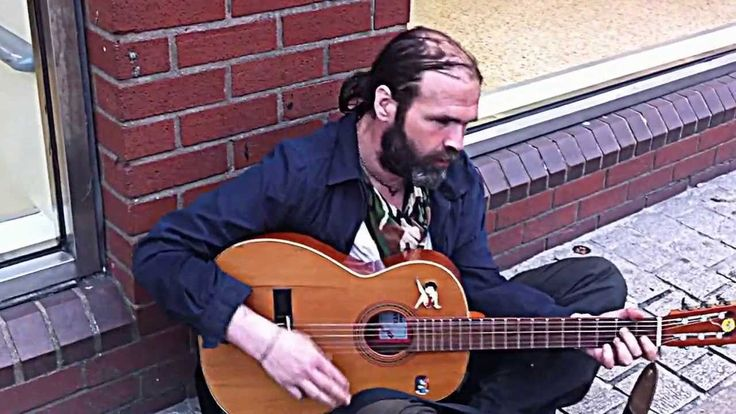 """Aside from the old lady who said """"he's not supposed to be here!"""" - This was a very enjoyable  recording of a chap, I consider to be the best BUSKER in Peterborough! I normally give him a £5 and name a tune, which he then AUTOMATICALLY knows!"""