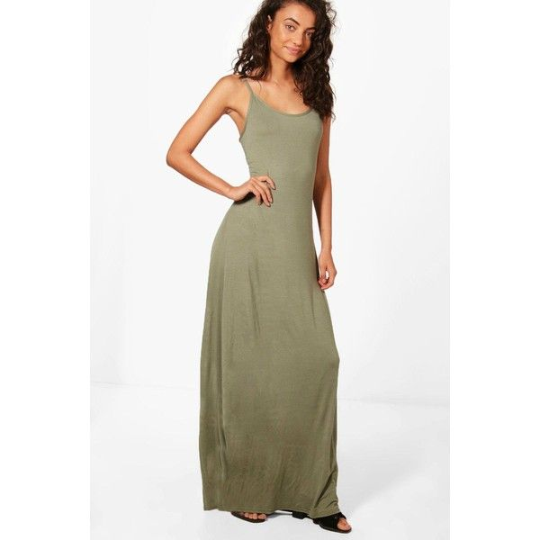 Boohoo Tall Bella Low Back Maxi Dress (19 BRL) ❤ liked on Polyvore featuring dresses, boohoo dresses, mini party dresses, white dress, low back white dress and white going out dresses