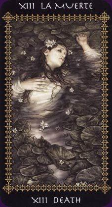 XIII - La Muerte - Tarot Favole   #tarot #muerte #baraja