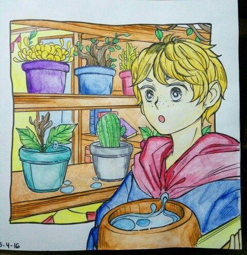 #coloringbookforadults #wanderingcolors #tabrakwarna #colorful #beautifulcolor #91