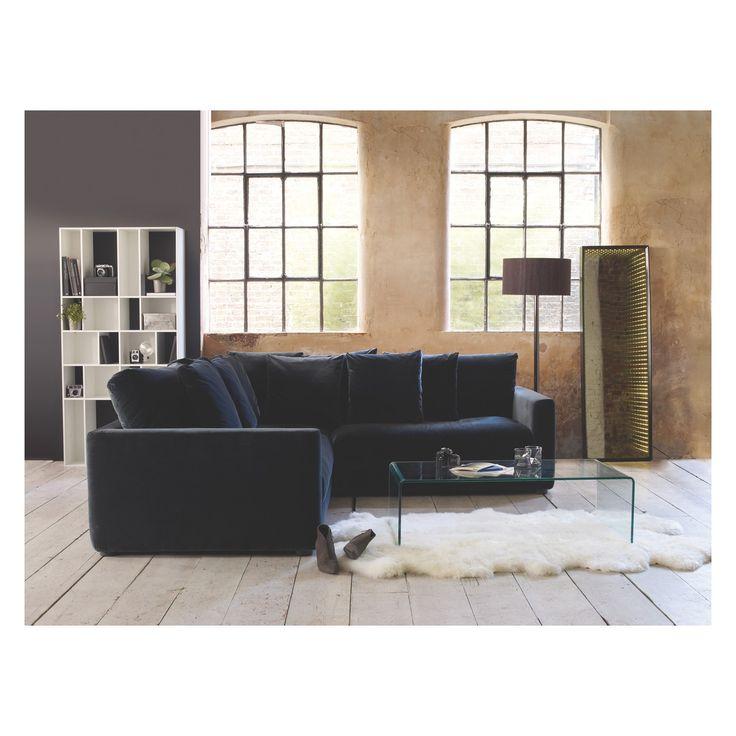 Rupert Dark Grey Velvet 3 Seater Sofa Bed Now At Habitat Uk