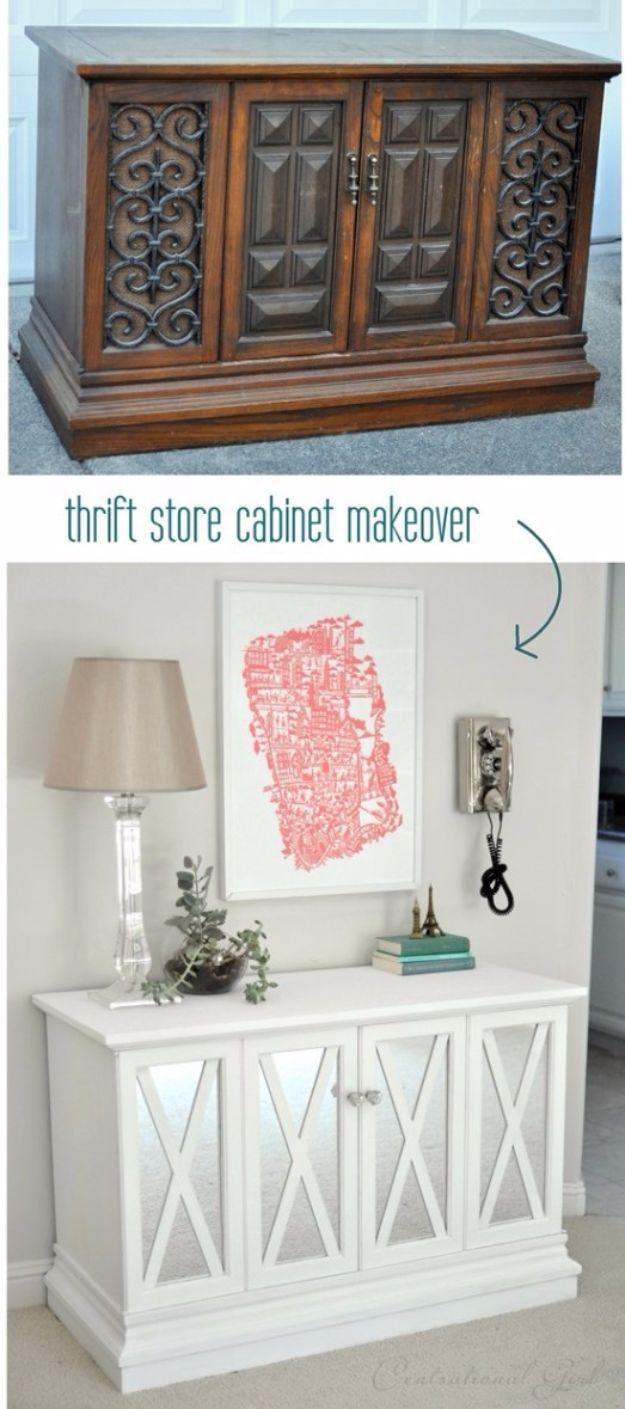 Best Furniture Hacks - $10 Cabinet Makeover - Easy DIY Furniture ...