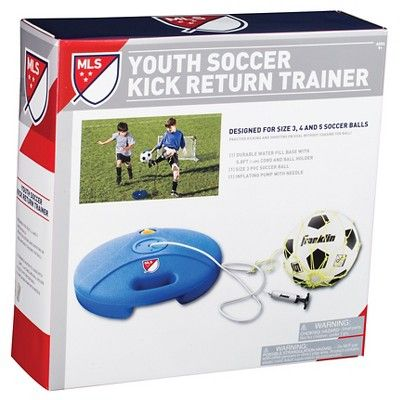 Franklin Mls Original Soccer Kick Return Trainer, White