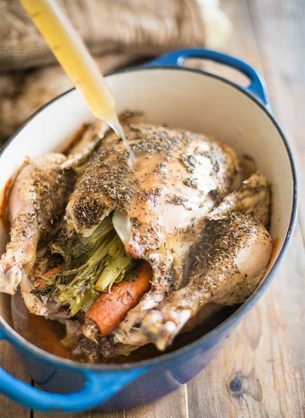Запеченная курица с овощами, пошаговый рецепт с фото   Блог elisheva.ru