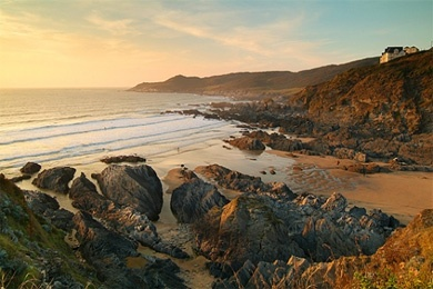 Baricane Beach, Woolacombe - my favourite place to have a fiver curry on the beach as the sun sets, with the people I love
