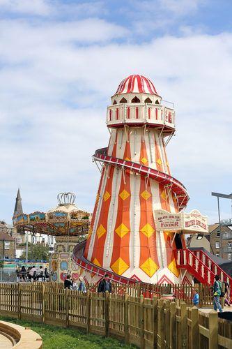Dreamland Pleasure Park in Margate, England