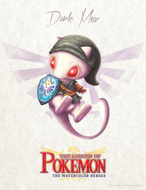 GEEKLY » » 5 The Legend of Pokemon Artworks Created by David Pilatowsky
