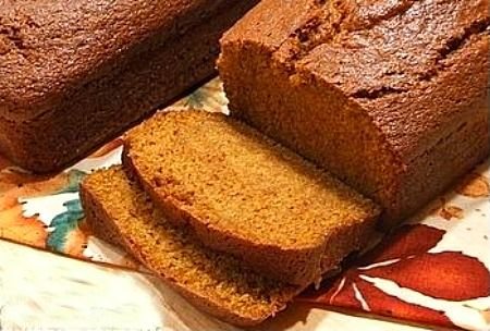 Recipe for the Best Pumpkin Bread ever. It's incredibly moist and full of delicious spices too. Photograph included.