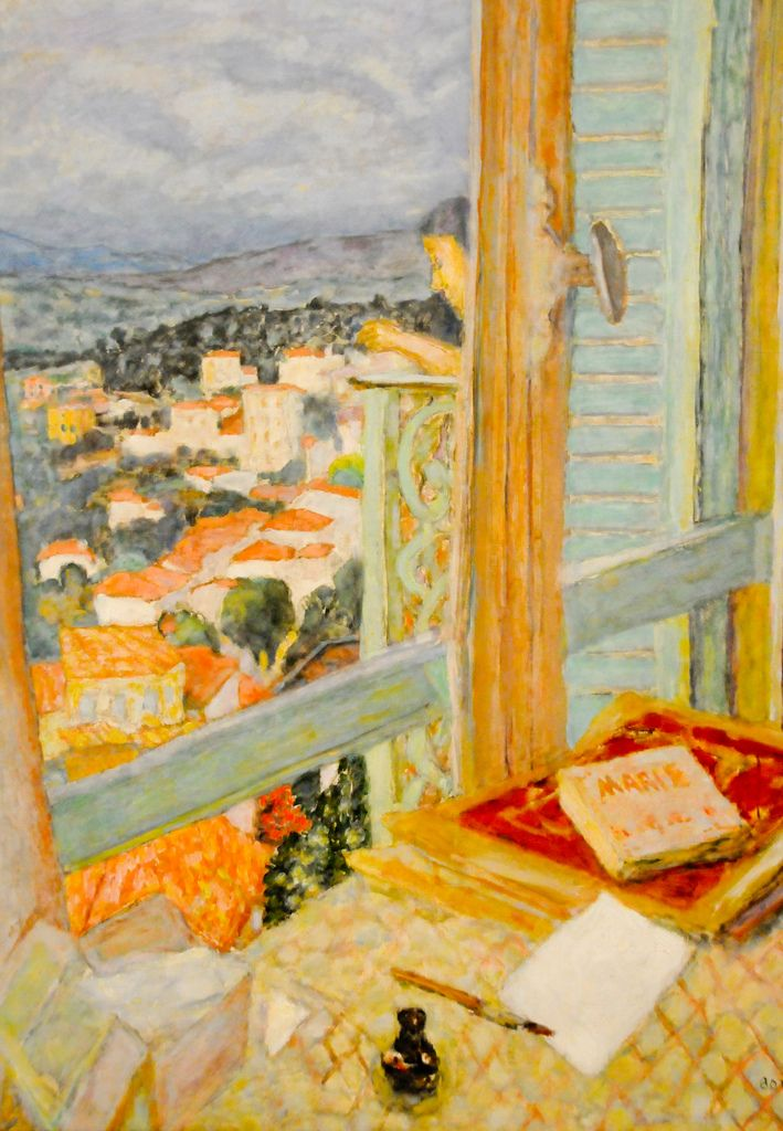 Pierre Bonnard (3 October 1867 — 23 January 1947) - The Window, 1925 at Tate Modern Art Gallery London England