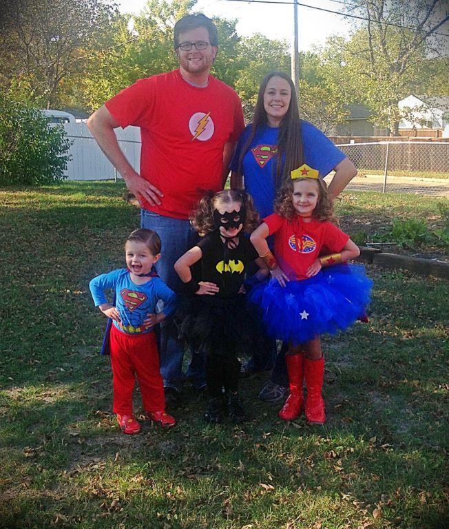 Super hero family all hallow s eve pinterest