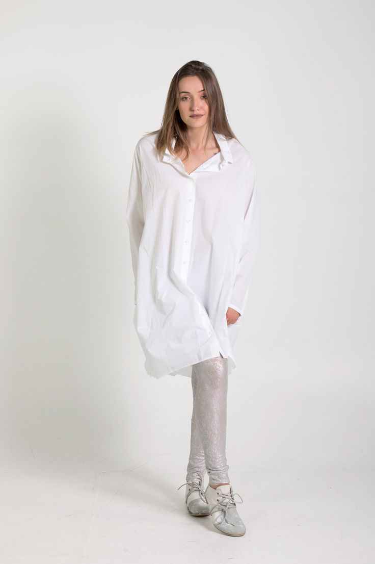 Rundholz Mainline | Et Vous | White Shirt Dress