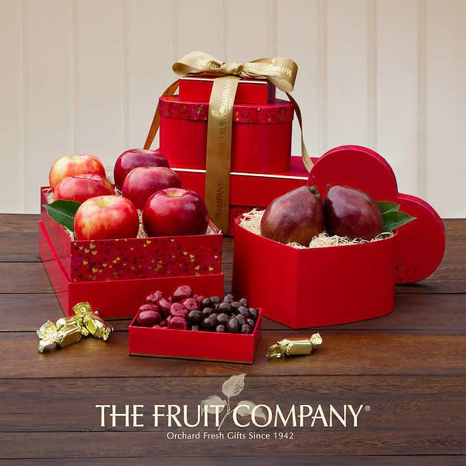 The Fruit Company Heart of Hearts Valentine's Day Tower *Fast Shipping* #TheFruitCompany #ValentinesDay