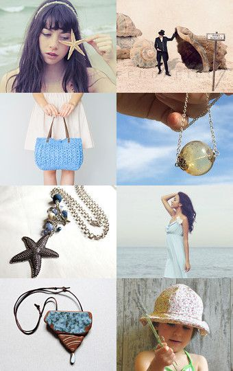 Where the sand meets the sea by Francesca Vicario on Etsy--Pinned with TreasuryPin.com