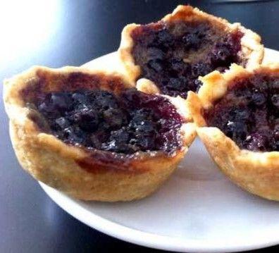 Saskatoon Berry Butter Tart ~