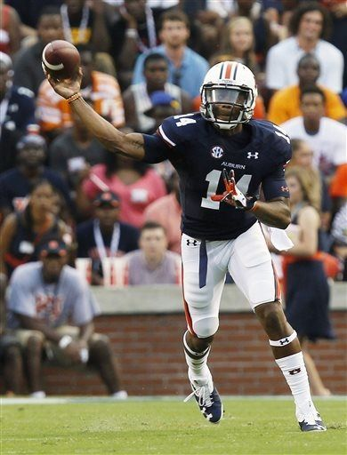 #NickMarshall #Auburn Football - Tigers Photos - ESPN   For Great Sports Stories, Funny Audio Podcasts, and Football Rules Tutorial www.RollTideWarEagle.com