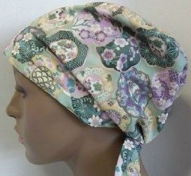 Cancer Hat Chemo Scarf Hair Loss Turban Cap By Englishtraditions. Chemo Hat Turban Black Peach Cancer Scarf Hair Loss   Ebay. Scarves For Wo...