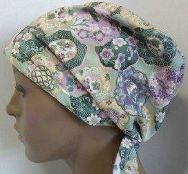 Cancer Hat Chemo Scarf Hair Loss Turban Cap By Englishtraditions. Chemo Hat Turban Black Peach Cancer Scarf Hair Loss   Ebay. Scarves For Wo...