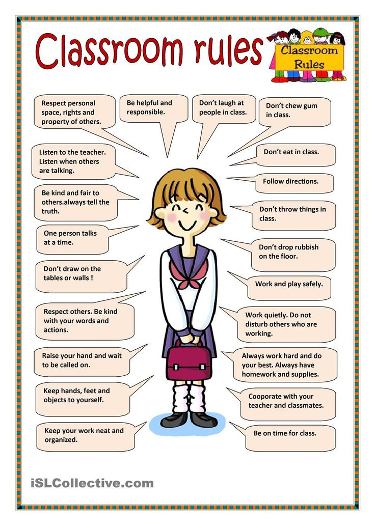 class rules Download our class rules poster and use it to discuss expectations with your children also includes lots of suggested rules.
