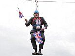 BRITAIN...Boris Johnson's the zip-lining American-born eccentric who might become Britain's next PM | Daily Mail Online