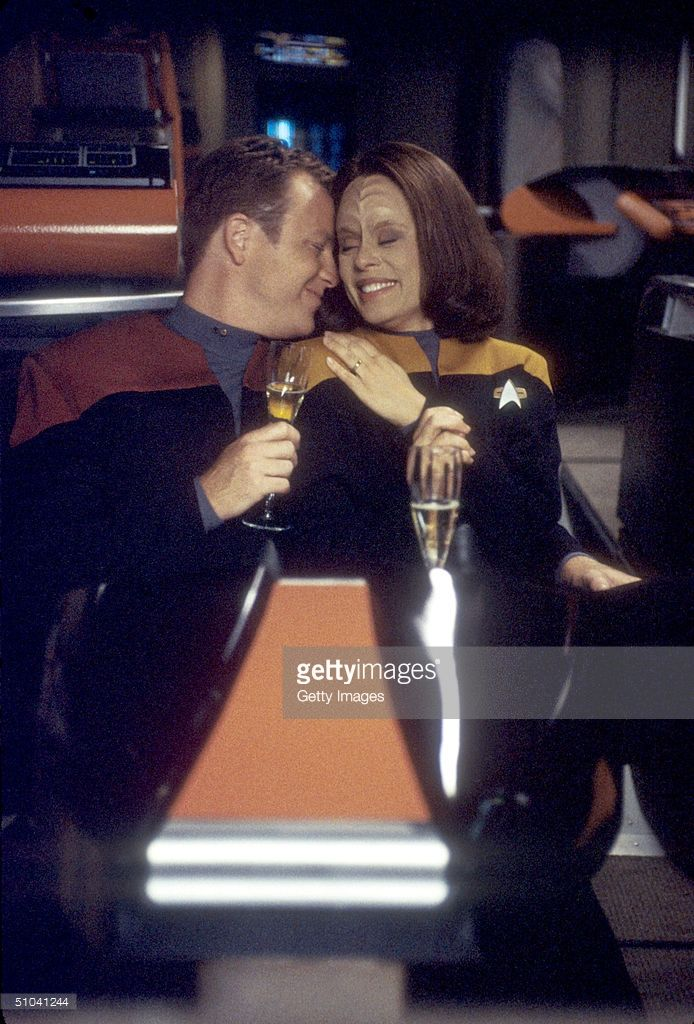 Roxann Dawson and Robert Duncan MacNeil