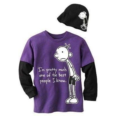 Diary Of A Wimpy Kid Shirt Walmart
