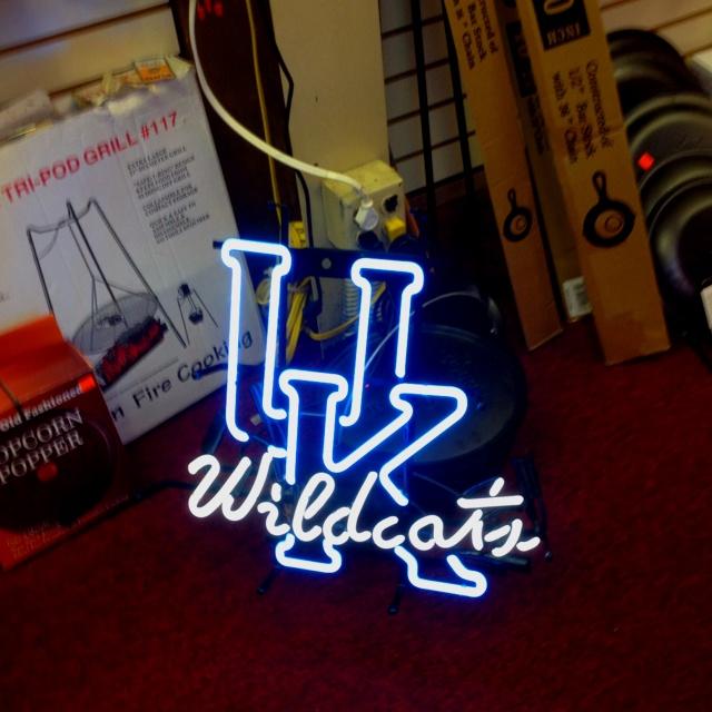University Of Kentucky Man Cave Ideas : Kentucky wildcats bar sign go team pinterest signs
