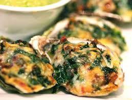 Oysters Rockefeller   Quantities are for 16 fresh oysters.