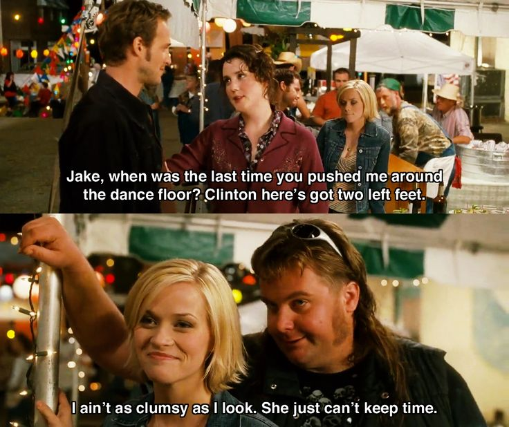 I ain't as clumsy as I look ~ Sweet Home Alabama (2002) ~ Movie Quotes #amusementphile