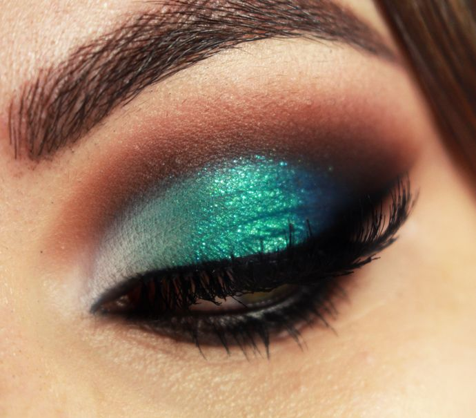Makeup Green Turquoise